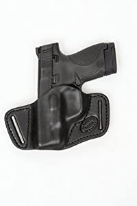 SMITH & WESSON BODYGUARD 380 Small of back SOB Concealed Carry Leather Holster