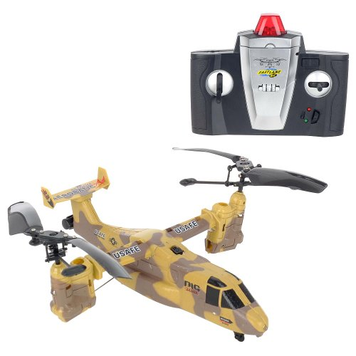 41X5mq%2B%2B4YL Buy  Remote Control Gold Rosita Osprey AirGround DualPurpose Helicopter