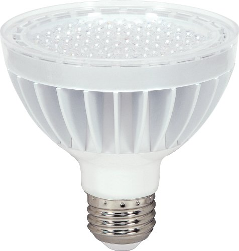 Satco S8943 14 Watt (75 Watt) 930 Lumens Par30 Short Neck Led Daylight White 5000K 60 Beam Kolourone Light Bulb, Dimmable