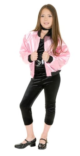 Pink Satin Ladies Kids Costume
