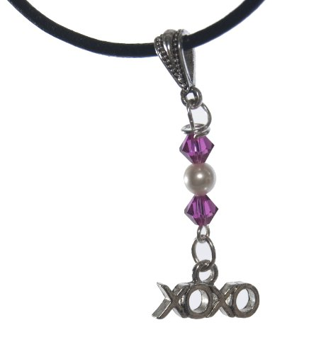 X's and O's Charm Necklace - Romantic Gift Idea -