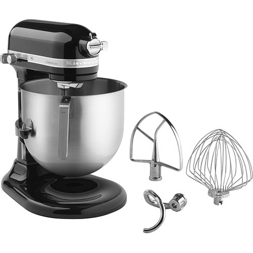 KitchenAid KSM8990OB 8-Qt Commercial Bowl-Lift Stand Mixer, Onyx Black