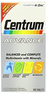 Centrum Advance Tablets - Pack of 100