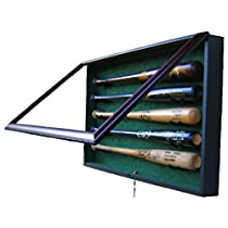 5 Bat Display Case - Acrylic Baseball Bat Display Cases
