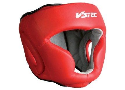 V3TEC Kopfschutz rot-weiß