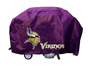 Minnesota Vikings Deluxe Grill Cover by Hall of Fame Memorabilia