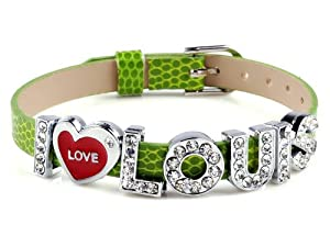 I Love Louis One Direction I Love Id Member Peridiot Wristband Bracelet Link Wrist Band from Yiwu City Yinuo E-Commercial Business Co.,Ltd