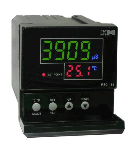 Hm Digital Psc-154 Tds/Ec Controller With 4-20Ma Output, 0-9999 Μs Measurement Range, 0.1 Μs/Ppm Resolution, +/-2% Readout Accuracy