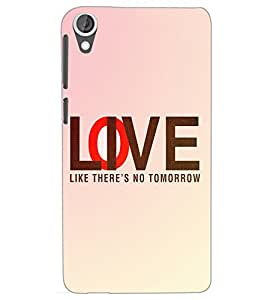 HTC DESIRE 820 LOVE Back Cover by PRINTSWAG