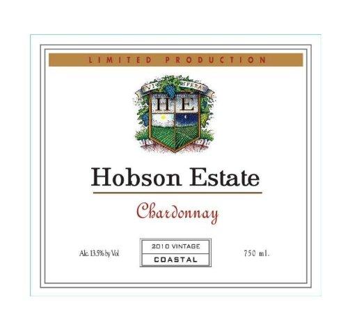 2010 Hobson Estate Chardonnay, California 750 Ml