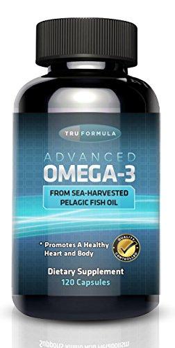 Omega-3 d'huile de poisson - 120ct - Acides gras