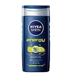 Nivea Bath Care Shower Energy, 250ml