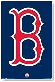 ボストン・レッドソックス ロゴ MLB ポスター