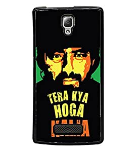 Tera Kya Hoga Kalia 2D Hard Polycarbonate Designer Back Case Cover for Lenovo A2010