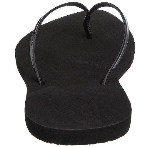 Reef Women's Bliss Sandal, Black, 8 M US