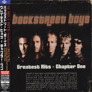 Backstreet Boys - Backstreet Boys - Greatest Hits: Chapter 1 (+ Bonus Vcd) - Zortam Music