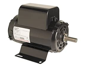 A.O. Smith B384 5 HP, 3600 RPM, 208-230 Volts, 1.15 Service Factor, CWLE Rotation, 7/8-Inch by 2-1/4-Inch Keyed Shaft Compressor Motor from Century Electric/AO Smith Motors Co