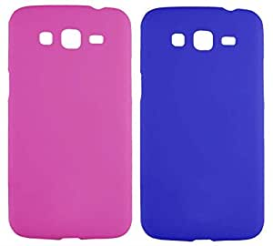 2 Pieces Winsome Deal Exclusive Hard Back Cover Case for Samsung Galaxy Grand 2 G7106