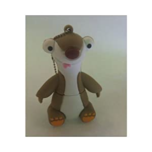 Euroge Tech 8GB USB Flash Drive Sid the Sloth
