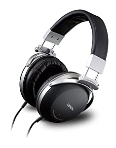 Denon AH D 2000 geschlossener Stereo-Kopfhörer (Aluminium Gehäuse, Mikrofasermembran, gewebegemanteltes OFC Kabel, Neodym-Treiber)