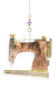Pilgrim Imports Sewing Machine Fair Trade Ornament