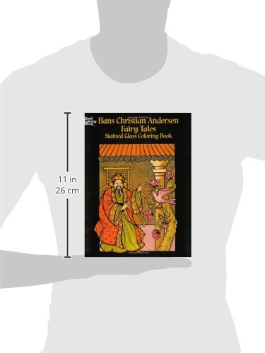 Hans Christian Andersen Fairy Tales: Stained Glass Coloring Book (Dover Stained Glass Coloring Book)