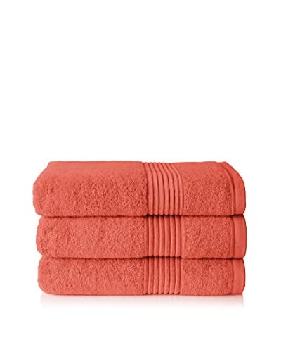 Chortex Set of 3 Ultimate Bath Towels, Rosa