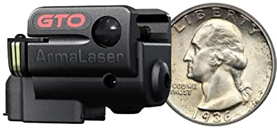 ArmaLaser Sub Compact Universal Picatinny Rail Mounted Laser System with Grip, Black, Left/Right from Armalaser