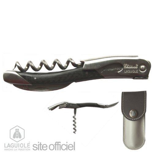 Laguiole Corkscrew, Sommelier Knife Signed By Eric Beaumard, Vice World Champion Vienne / 1998, And Best Sommelier France / 1992, And Europe / 1994. Sommelier At Georges V - Paris. Authentic Genuine Chateau Laguiole. Hand Made In France. Delivered With Pe