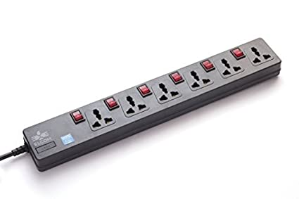 Elcom 6Socket (6 Switches) Spike Guard