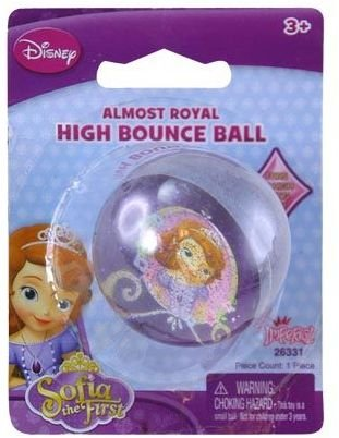 Disney Sofia The First High Bounce Ball