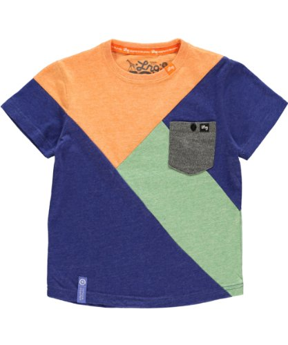 LRG - Kids Boys 2-7 Creative Castaways Tee, True Blue Heather, 5