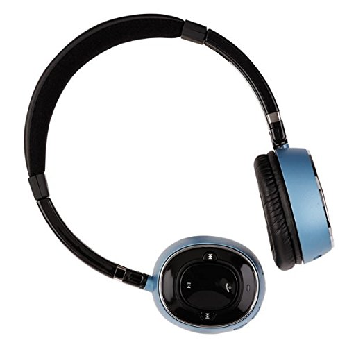 Supertooth Z004108E Melody Bluetooth A2Dp Stereo Headset, Blue