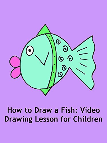 How to Draw a Fish: Video Drawing Lesson for Children