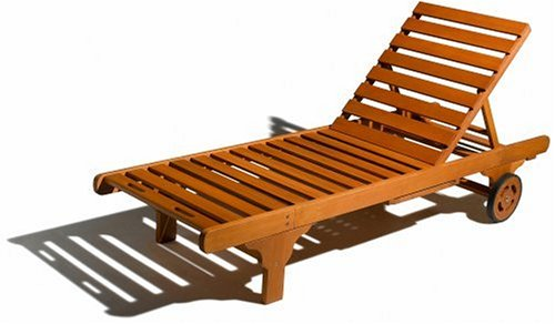 Strathwood Hardwood Chaise Lounge