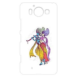 a AND b Designer Printed Mobile Back Cover / Back Case For Nokia Lumia 950 (NOK_950_3D_1637)