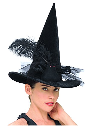Rubie's Costume Co Spider Wit Child Hat-Black Costume
