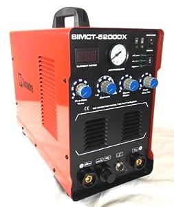 Simadre 5200dx 110v/220v 50a Plasma Cutter 200a Tig Arc Mma Welder