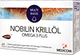 NOBILIN Krillöl Omega 3 Plus Kapseln 2X60 St