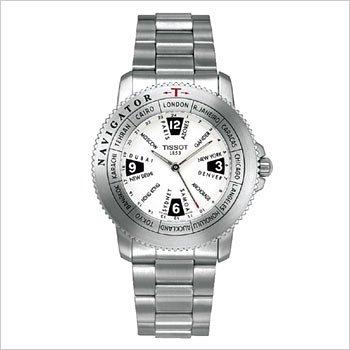 New Tissot Men's Sports Navigator World Time WR Watch T30148512 - Buy New Tissot Men's Sports Navigator World Time WR Watch T30148512 - Purchase New Tissot Men's Sports Navigator World Time WR Watch T30148512 (Tissot, Jewelry, Categories, Watches, Men's Watches, Sport Watches, Metal Banded)