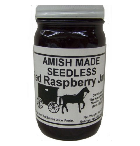Amish Jam Seedless Red Raspberry -