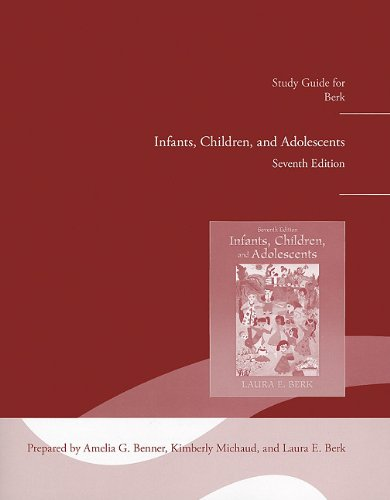 Study Guide for Infants, Children and Adolescents