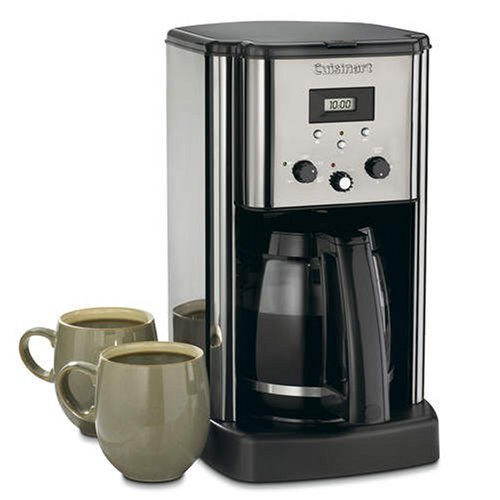Cuisinart® 12-cup Coffee Maker - Black Chrome