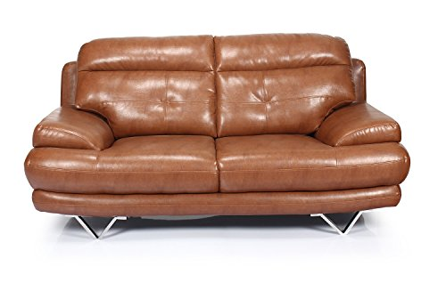 Home City Lloyd Two Seater  Sofa (Brown)