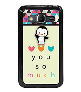 Fuson 2D Printed Love Designer back case cover for SAMSUNG GALAXY CORE PRIME G360H - D4358