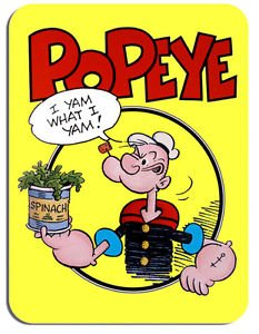 popeye-mouse-mat-cartoon-animation-comic-novelty-mouse-pad