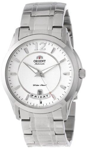 Orient Herren CEV0M001W 21 Rubinsteine ??Automatic mit Full Day und Datum White Face