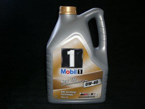 Mobil 1 New Life 0W-40 Motoröl 0W40 5 Liter