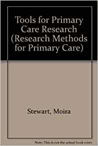 Primary research tools