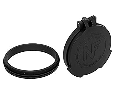 NightForce Objective Flip-up lens caps - BEAST, ATACR 25x F1, Black from Nightforce Riflescopes